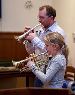 Henk Buurman de trompetleraar